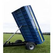 Fleming Tr4 4 Tonne Tipping Trailer, Fleming 4 Tonne Hydraulic Ti...