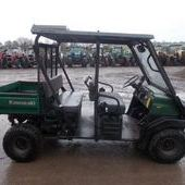 Utility vehicle: Kawasaki 4010... Omagh