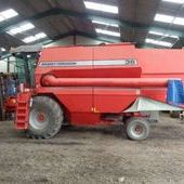 Used Massey Ferguson 36rs Combine... York