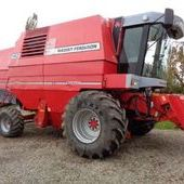 Used Massey Ferguson 40rs Auto-level Combine... York
