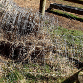 STOCK FENCE WIRE. £12