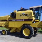 Used New Holland Tc56 Combine... York