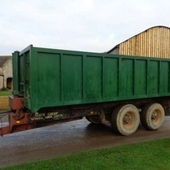 Used 14 Tonne Tipping Trailer... York