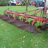 Used Kvernland 5 F Conventional Plough ... York