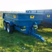 New Nc 14 Ton Dump Trailer... Swindon