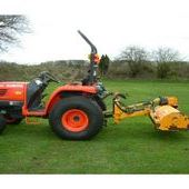 Reco Ferri Zme125 Compact Flail Mower, tractor Flail Topper Hedge...