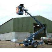 Spencer Hm28 Trailor Mounted Cherry Picker Honda Engine... Sutton...