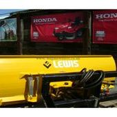 Lewis snow plough to fit Kubota F3680 / F2880 / F3890... Sutton C...