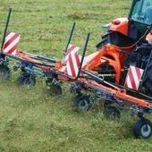 Kubota Te4052 4 Rotor Tedder... Boston