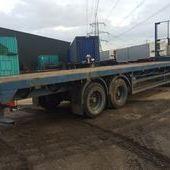 Tandem Axle Flat Trailer... Lincoln