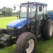 Second Hand New Holland Tn75s Tractor ref: 3298... Burnley
