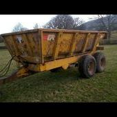 Marston 10ton Dump Trailer... Hereford