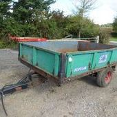 Weeks Metal Tipping Trailer ... Swindon