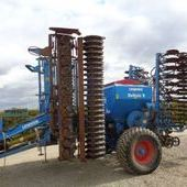 Used Lemken Solitaire 6m Trailed Combi Disc Drill... York