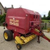 New Holland 548 Round Baler... Swindon