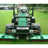 Ransomes 2130 and Ransomes 2250 Triple Cylinder Ride on Mowers......
