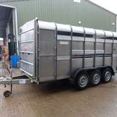 Ifor Williams Ta510g3 14ft Livestock Trailer... Maidstone