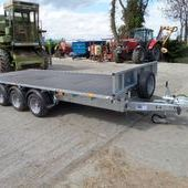 Ifor Williams 16ft Tri Axle Flat Bed Trailer... Maidstone