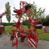 Used Lely Lotus 675 6 Rotor Tedder... York