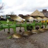 Used Dowdeswell Dp7r 5f Auto-reset Plough... York