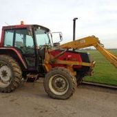 Valmet 6000 C/w Grays Lynkon Loader... York
