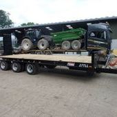 Jpm 27ft Tri Axle Low Loader Trailer... Maidstone