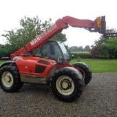 Used Manitou Mlt633-120 Powershift Telehandler... York