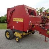 Used New Holland 640 Round Baler... York