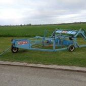 Used Cooks Bale Sledge... York