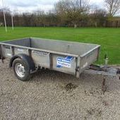 Used Ifor Williams 8 X 4 Trailer... York