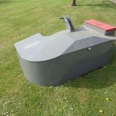 Used Agriweld 1500kg Weight Box... York