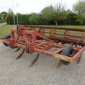 Used 3. 7m Sabre Toothed Cultivator... York