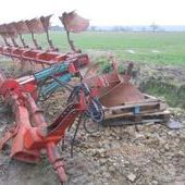 Used Kvernland Rc100 7 Furrow Semi Mounted Plough... York