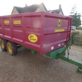 Marshall Qm8 Ton Trailer... Swindon