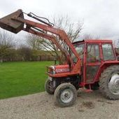 Used Massey Ferguson 250 C/w Veto Loader... York