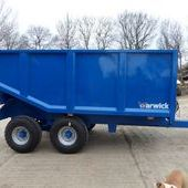 Warwick 8 Tonne High Dump Trailer... Maidstone