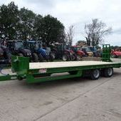Jpm 25ft Low Loader Trailer... Maidstone