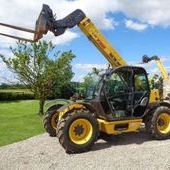 Used New Holland Lm732 Powershift Telehandler... York