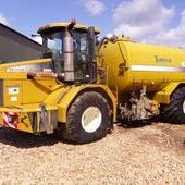 Used 2104 Terragator C/w 2250 Gallon Tanker... York