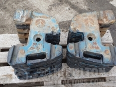 FORD NEW HOLLAND WEIGHTS