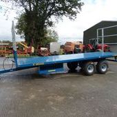 Fleming 21ft Bale Trailer ... Maidstone