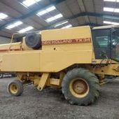 Used New Holland Tx34 Combine... York