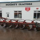 Kverneland 6 Furrow Spring Loaded Plough... Craigavon