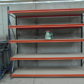 SHELVING (industrial) as new condition