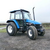 New Holland 4835 tractor