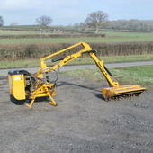 McConnel PA47 hedgecutter