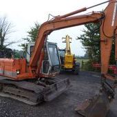 Hitachi Ex60-1 Tracked Digger