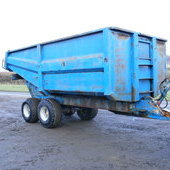 Richard Western Dump Trailer