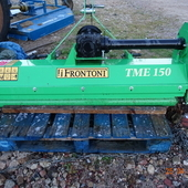 FLAIL MOWER FRONTONI TME 150 HEAVY DUTY 5FT WIDE