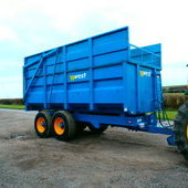 West Silage Trailer